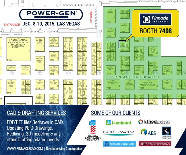 Pinnacle Partaking Second Time @ Power-Gen International Event