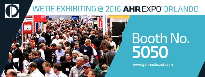Pinnacle Participating for the Fifth Time at 2016 Jan AHR Expo