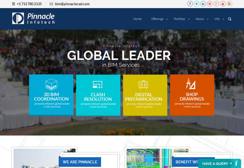 Pinnacle Launched New Website Focusing on Engineered BIM Solution