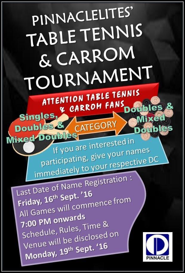 table-tenniscarrom-tournaments