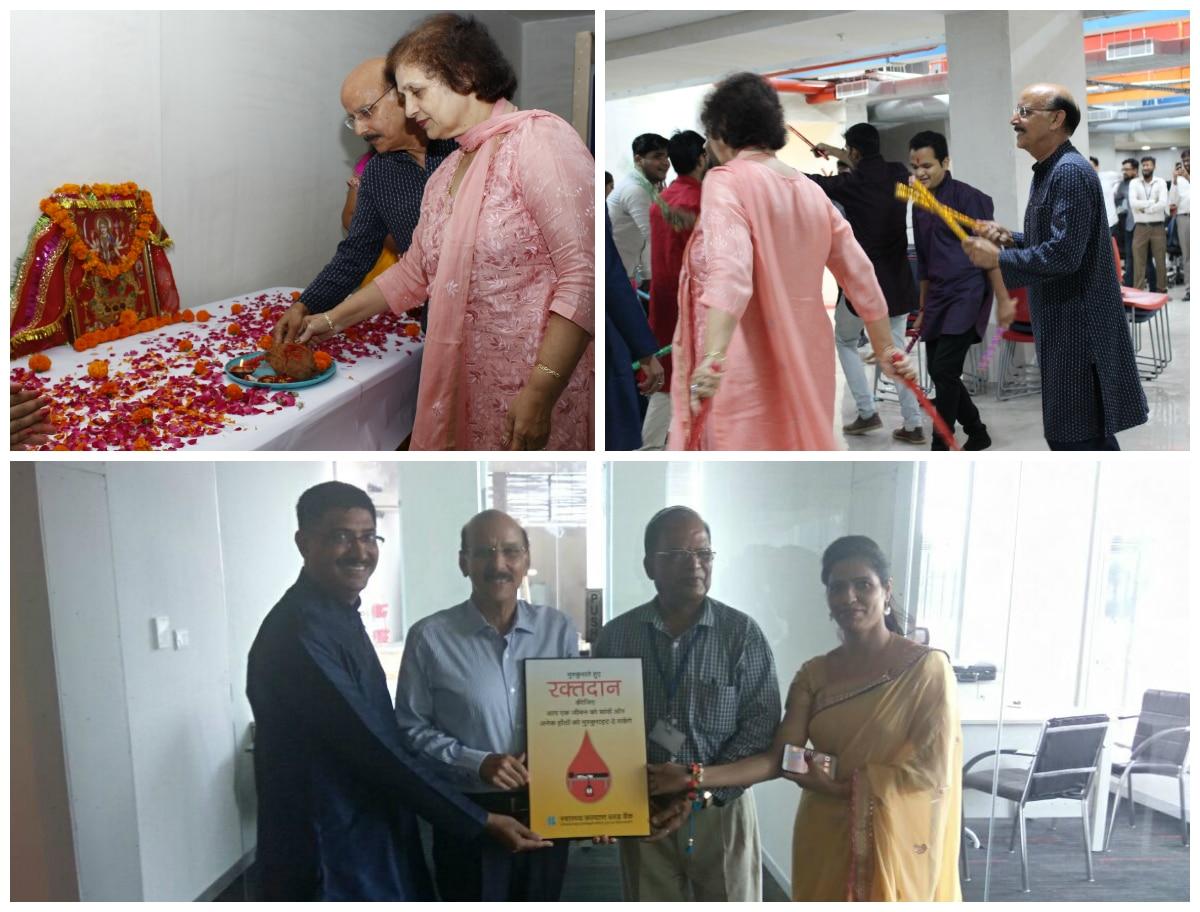 Navratri Celebration at Jaipur Office