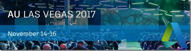 Autodesk University Nov 2017