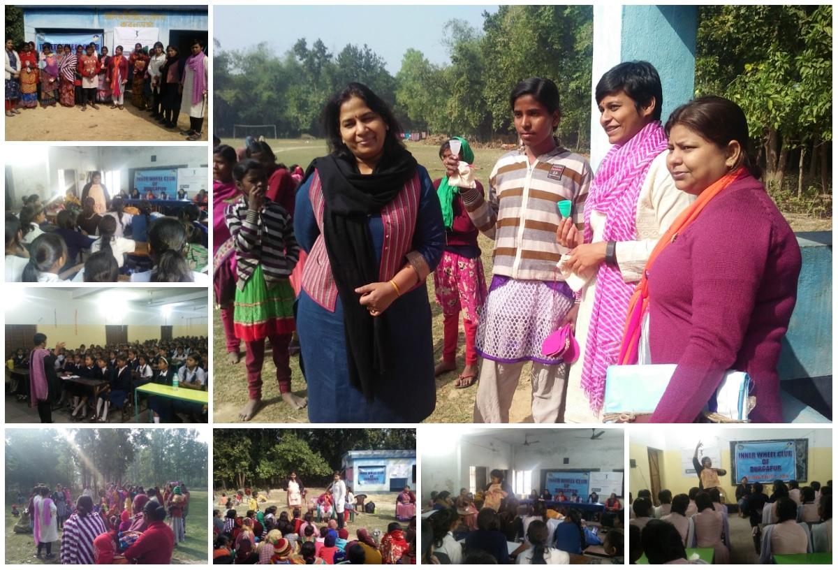 Women Hygiene Program at Pinnacle Infotech Durgapur