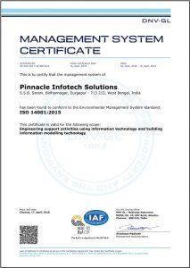Pinnacle Infotech - EMS Certificate
