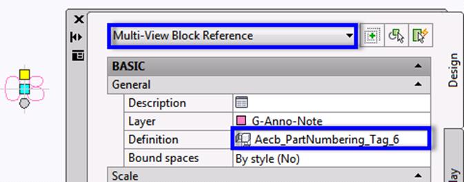Multi-view Block Reference in AutoCAD MEP