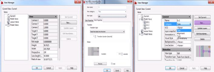 Saving View Name in AutoCAD