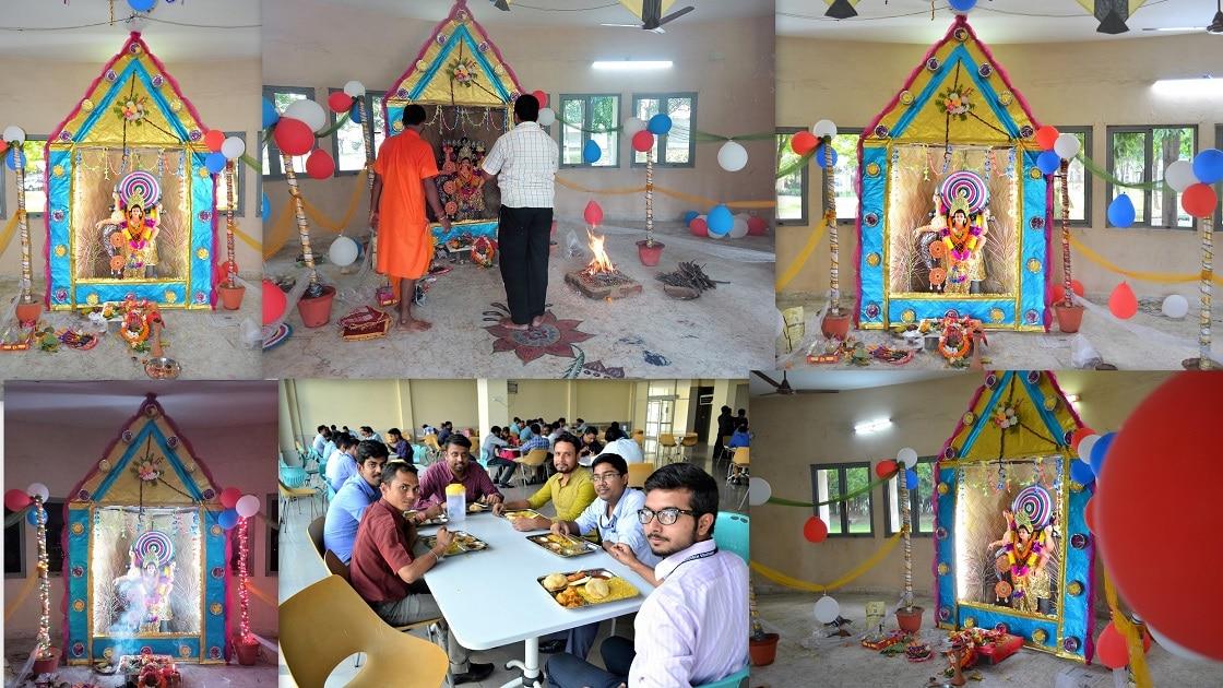 Vishwakarma Puja Celebration at Pinnacle Infotech