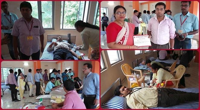 Blood Donation Camp at Durgapur Campus