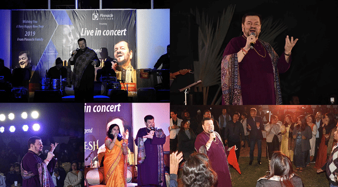 Live-in Concert – Legendary Performance by Nitin Mukesh @ Pinnacle Durgapur Campus