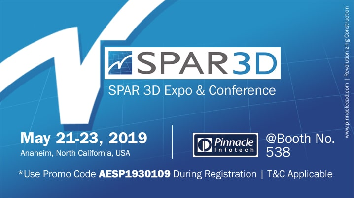 Map your AEC Project with Laser Scan | Pinnacle Infotech for General Contractors @ SPAR 3D Expo & Conference