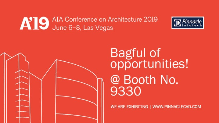 Join the Architecture Expo A'19 at LVCC, Las Vegas