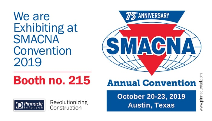 Pinnacle InfoTech is Exhibiting at SMACNA Annual Convention 2019