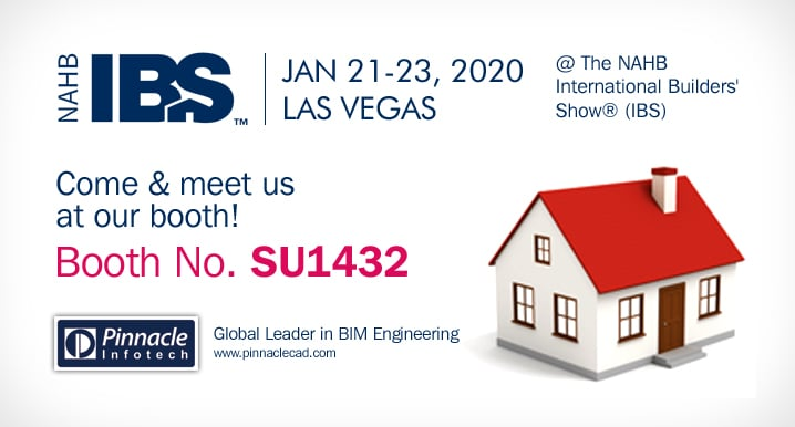 Know, How BIM Yields Higher ROI in Your Next Project @ NAHB International Builders' Show