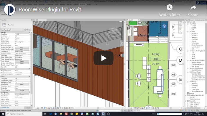 RoomWise Add-in for Revit