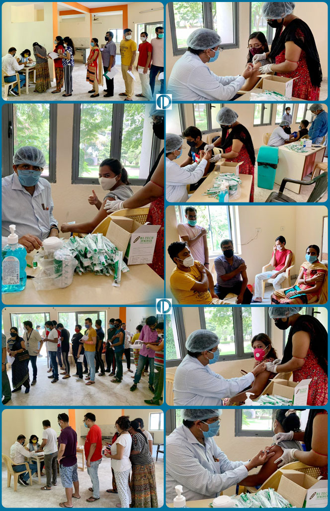 Pinnacle Organizes Vaccination Drive across its offices in India