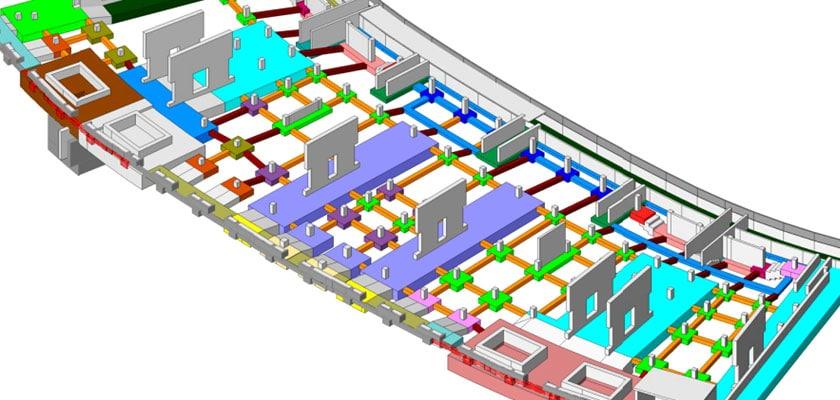 3d_bim_model_UC_Berkeley_Memorial_Stadium