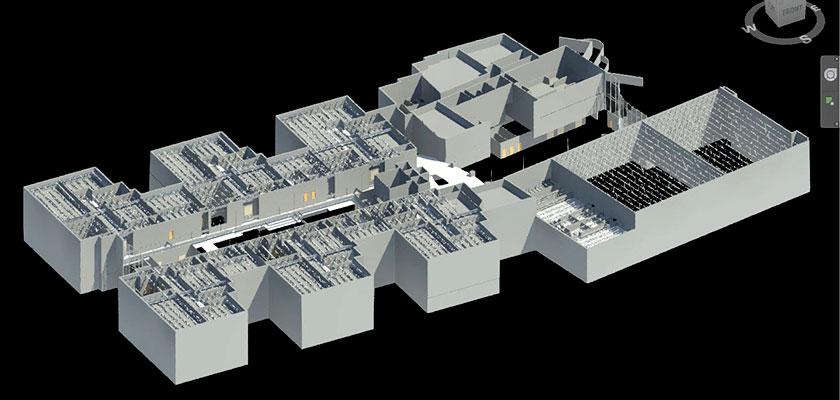 architectural_bim_model_Creek_Middle_School