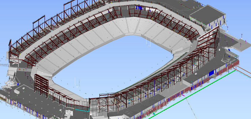 architectural_bim_model_University_of_Houston_football_stadium