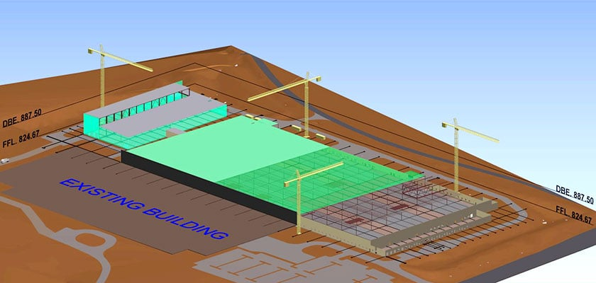 architectural_bim_modeling_TICA Plant