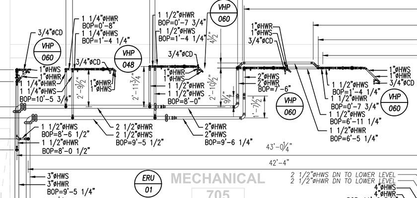 mechanical_piping_floor_plan_Ballyshannon Middle School